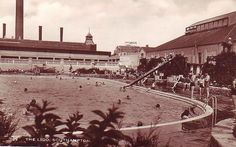 23 best southampton before wwii images world war two - Shirley swimming pool southampton ...