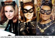 batman - serie da Tv- as 3 mulheres gato da serie