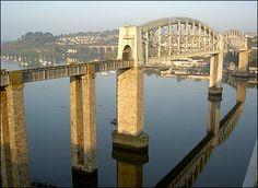 Brunel's rail bridge over the Tamar