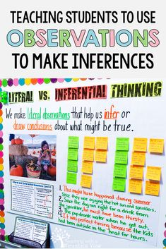 Teaching students to make inferences in upper elementary can be so difficult! This anchor chart and free lesson might be a help in your third, fourth or fifth grade classroom. Reading Lessons, Writing Lessons, Reading Resources, Reading Strategies, Reading Activities, Teaching Reading, Reading Comprehension, Writing Ideas, Summer Activities