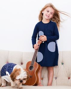 click on photo to shop this dress. The Matching Dots. UNMATCHED #MATCHING #FASHION. Gift ideas for little #girls. Fun for friends and sisters. Dress. #Kids. Made in USA. Be spotted! #furry #friend #puppy