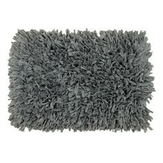 Super Shaggy Accent Rug - Pewter
