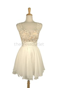 Short Mini Formal Chiffon Cocktail Dress Homecoming Prom