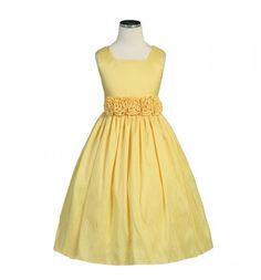 Carissa Yellow Flower Girl Dress - Shop Girls Yellow Dresses at ...
