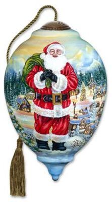 Neqwa Santa Claus Is Coming To Town Christmas Ornament