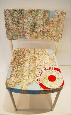 Maps: travel bug ...