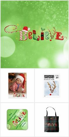 Santa's BELIEVE Christmas Collection