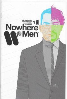 Nowhere Men #1 Image Comics Eric Stephenson VF