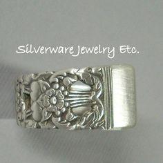 Silverware Spoon Ring Silverware Jewelry by SilverwareJewelryEtc, $19.97