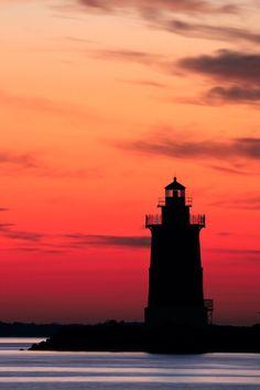 Delaware Breakwater Lighthouse - Lewes, Delaware
