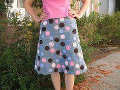 Alabama Chanin skirt