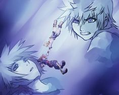"Wouldn't this be a cool scene in kh3? Like, in that moment where everything seems hopeless and Sora is fading away into darkness, Roxas or Ven grabs him and starts yelling ""After everything I went through, you better not give up here!"" (or something like that) at him to bring him back!"