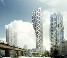 bjarke ingels gets approval for beach + howe tower in vancouver