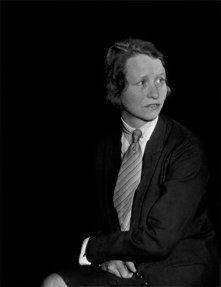 Edna St. Vincent Millay, New York, 1930. Photo by Berenice Abbott. Edna St. Vincent Millay (1892-1950) was an American lyrical poet, playwright and feminist. She received the Pulitzer Prize for Poetry, and was known for her activism and her many love affairs. She used the pseudonym Nancy Boyd for her prose work.