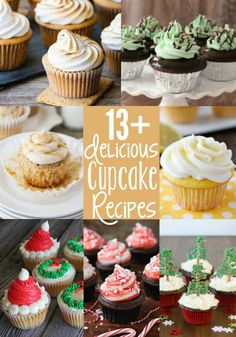Chocolate Christmas Tree Cupcakes and 13+ Other Cupcake Recipes