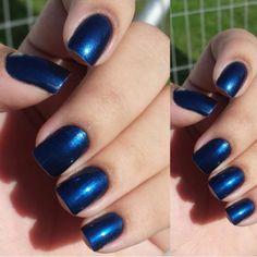 O esmalte Royal Blue, da linha Salon Formula é um dos queridinhos das clientes da NYX do Parque Shopping Maceió