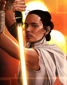 Rey Star Wars, Star Wars Fan Art, Episode Vii, The Phantom Menace, The Empire Strikes Back, Anakin Skywalker, A New Hope, Last Jedi, Star Wars Episodes