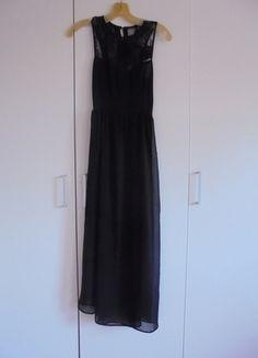 Kup mój przedmiot na #vintedpl http://www.vinted.pl/damska-odziez/sukienki-wieczorowe/9956410-sukienka-zara-maxi-koronka-czarna