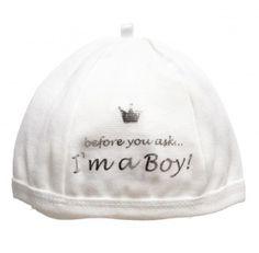 Gorro para menino bebé