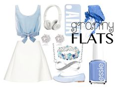 """""""blue today"""" by joellesmolenaers on Polyvore featuring mode, Repetto, Neil Barrett, Honor, Avenue, River Island, Essie, Beats by Dr. Dre en NARS Cosmetics"""