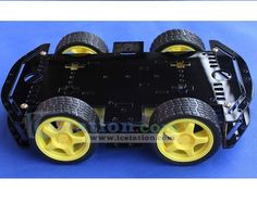 4WD V7 Smart Car Chassis Robot  http://www.icstation.com/product_info.php?products_id=2619