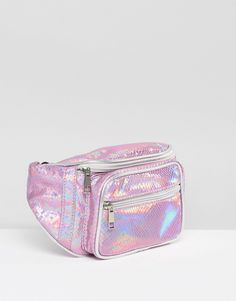 Image 2 of Missguided Holographic Bum Bag