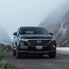 Back in Black 🖤🖤🖤 Kia Motors, Back To Black, Santa Fe, Instagram Posts, Cars, Vehicles, Autos, Automobile, Car