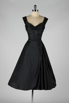 vintage 1950's party dress . SEYMOUR JACOBSON by millstreetvintage