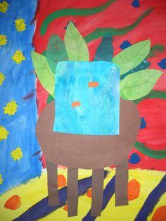DREAM DRAW CREATE: Henri Matisse fish bowl mixed media project grade 5