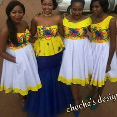 African Wedding Attire, African Attire, African Wear, Traditional Wedding Attire, Traditional Fashion, Traditional Outfits, Tsonga Traditional Dresses, South African Traditional Dresses, Latest African Fashion Dresses