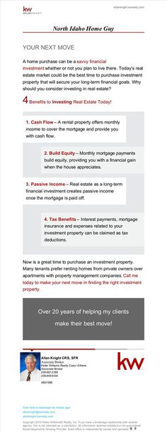 4 Benefits to Investing in Real Estate Today!: