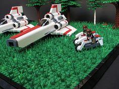Battle star galactica in LEGOS
