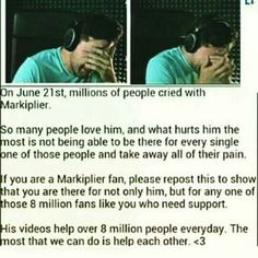 Mark, even if you're not there personally you still help so many people with your videos. Thank you Mark. We love you.