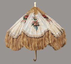 Parasol  --  1855-58  --  French  --  Museum of Fine Arts, Boston