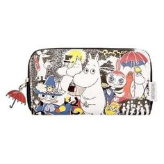 Moomin Comic Wallet by Disaster Designs - The Official Moomin Shop Moomin Shop, Disaster Designs, My Bags, Purse Wallet, Closer, Zip Around Wallet, Cartoon, Pocket, Purses