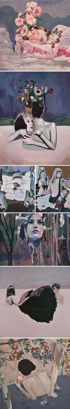 paintings by alexandra levasseur