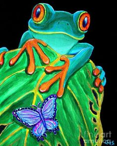 A group of frogs were traveling through the woods when two of them fell into a…