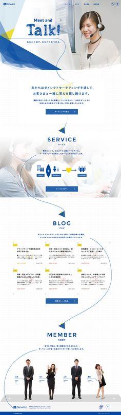 Darwinz : 81-web.com【Webデザイン リンク集】 Website Layout, Web Layout, Layout Design, Site Design, Book Design, Web Graph, Corporate Website, Web Banner Design, Japan Design