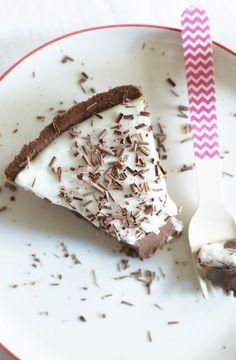 Traditional Chocolate + Haupia (Hawaiian Coconut Pudding) Tart | Set the Table..., ,
