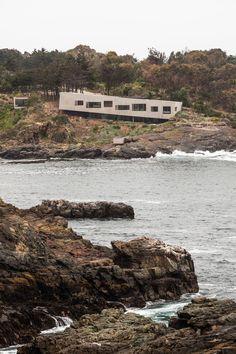 Felipe Assadi, Francisca Pulido, Casa Bahia Asul, Fernando Alda, Los Vilos, Chile
