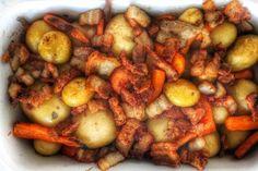 Maire mummun kermaiset joulutortut - Sweet Food O´Mine Minion, Sweet Recipes, Shrimp, Potatoes, Meat, Vegetables, Food, Potato, Essen