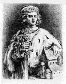 Portret Bolesława Kędzierzawego