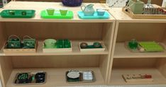 We have rainbows in the class, but St. Patrick's Day won't be complete without a little green! Here's our fine motor shelf for March Pouring On the very top are our pouring activities, in various shades of green. The mini leprechaun hats are from the Dollar Store and the trays are from Montessori Services(affiliate link). …
