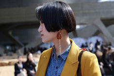 Let This Korean Street Style Be All The Spring Fashion Inspiration You Need #refinery29  http://www.refinery29.com/2016/03/107017/korean-fashion-seoul-street-style-photos#slide-18  This would look just as cool on its own....