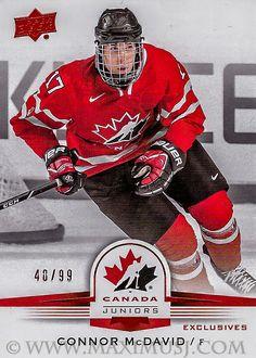 Connor McDavid – MaximusJ Hockey Cards