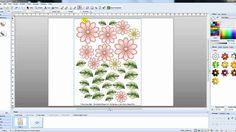 Craft Artist   Selecting single images from sheets of images Single Image, Digi Stamps, Serif, Craft Tutorials, Digital Scrapbooking, Photoshop, Tally Marks