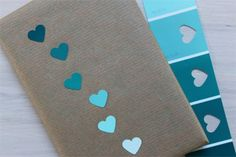 DIY your photo charms, compatible with Pandora bracelets. Make your gifts special. Make your life special! ombre + hearts = perfection (i am headed to the paint department) gift wrapping Present Wrapping, Creative Gift Wrapping, Creative Gifts, Easy Gift Wrapping Ideas, Diy Gift Wrap, Gift Wrapping Ideas For Birthdays, Birthday Wrapping Ideas, Japanese Gift Wrapping, Gift Wrapping Techniques