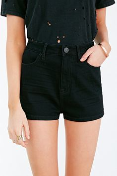 BDG 4-Pocket Pin-Up Short - Urban Outfitters
