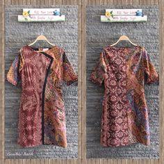 Tenun Maumere Lawas + Batik tulis pekalongan lawas + lining Tricot halus, By Gendhis Batik