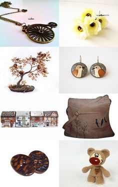 Browns for Everyone by Linda Karen on Etsy--Pinned with TreasuryPin.com